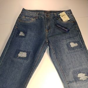 Lucky Brand Billy Straight Jeans - Boy's Size 16